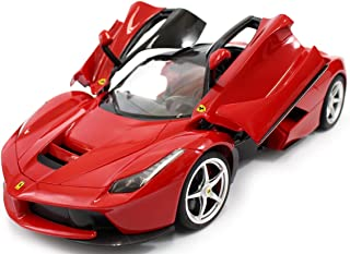 AMPERSAND SHOPS Red 1/14 Scale Ferrari La Ferrari LaFerrari Radio Remote Control Model Car R/C RTR Open Doors