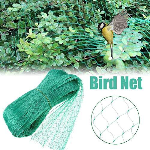 Red de protección para pájaros de Learnarmy de 4 x 10 m, reutilizable, red de protección para jardín, protección de plagas, guisantes y frutas