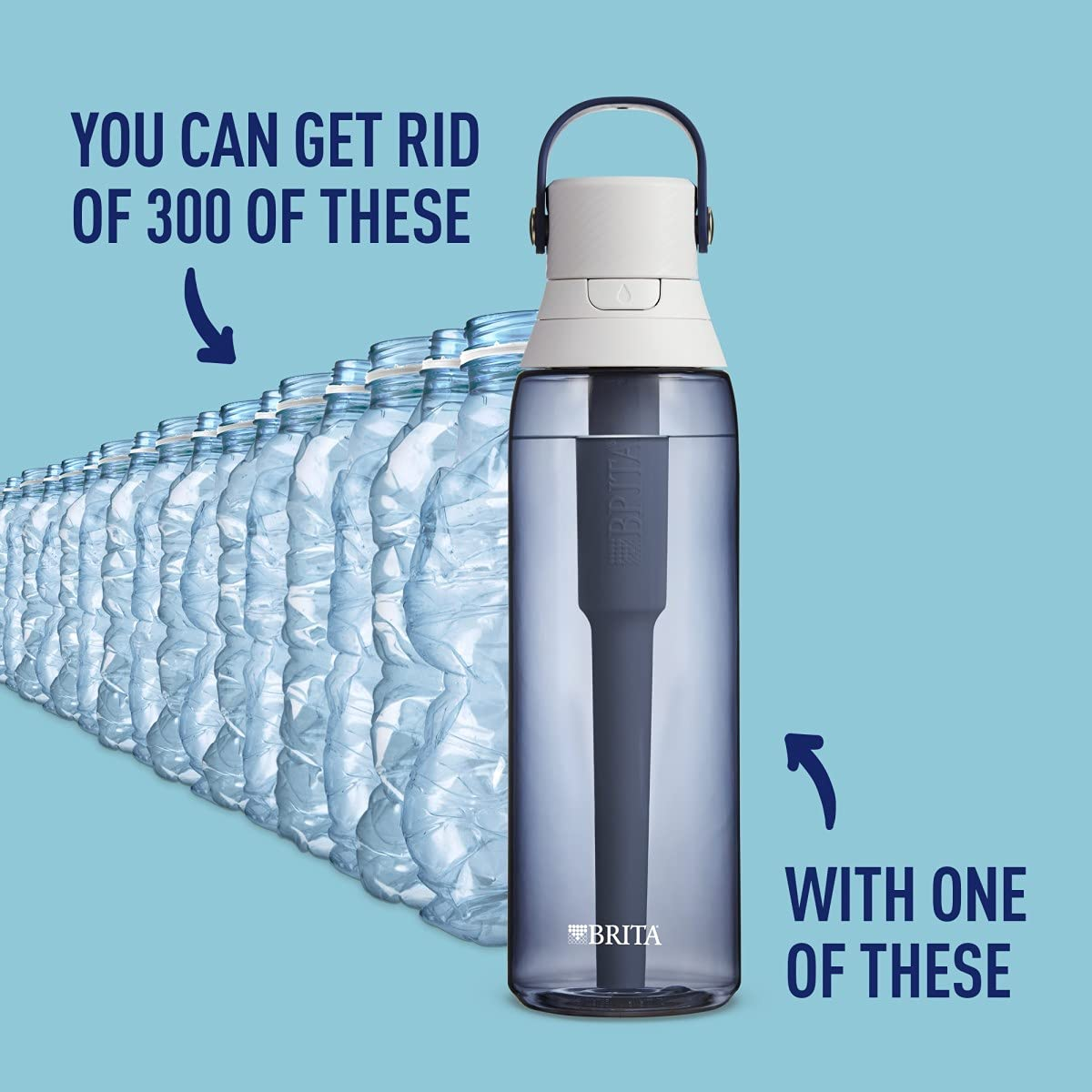 Genuine Brita Disc Filter Refills For Active Water Bottle Quantity 1 3 6 12 24