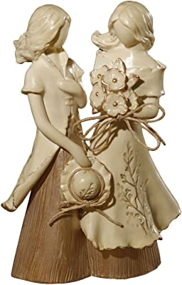 Enesco Nature's Poetry Designed by Artist Kim Lawrence Friends Figurine 6.5 in