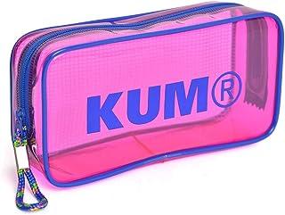 ペンケース クリア かわいい 大容量 KUM クム パステルカラー 筆箱 ビニール かわいい 女の子 透明 オルチャン ペンポーチ 大きめ 大きいサイズ