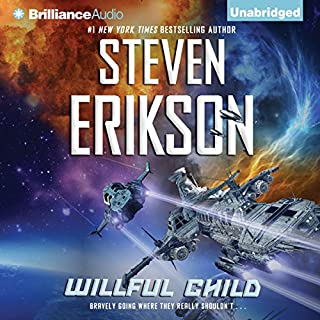 Willful Child audiobook cover art