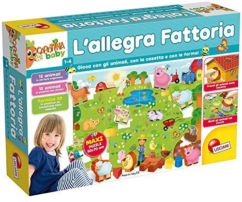 Liscianigiochi- Carotina Baby la Mia Allegra Fattoria, Multicolore, 69293