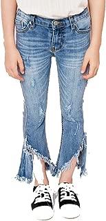Girls Frayed Bottom Jeans (10/12)