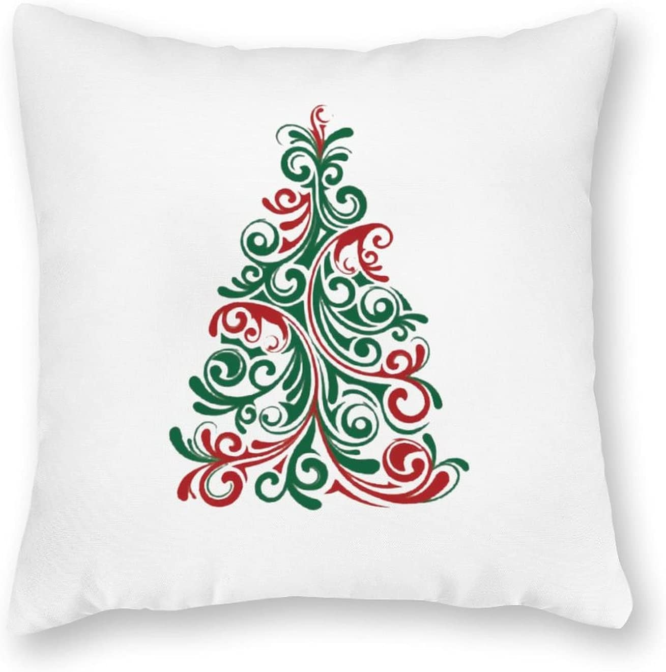 Canvas Pillow Case Whimsical Christmas Tree Pill New color Pillowcase Kids Clearance SALE! Limited time!