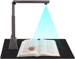 Moniel Portável portátil de alta velocidade portátil USB Photo Scanner de câmera de documentos 10 mega pixel HD High-Defin...