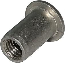 200x Tuercas hexagonales M4 7mm H3.2mm DIN934 acero galvanizado C19164 AERZETIX