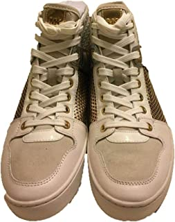 Michael Kors Matty Leather High-Top Sneaker (8.5)