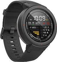 【国内正規品】Amazfit Verge スマートウォッチ 活動量計 心拍計 通話対応 IP68防水 GPS&GLONASS対応 AMOLEDスクリーン 音楽再生(フラッシュメモリ内蔵) 日本語表示 iPhone&Android対応 1年間保証付