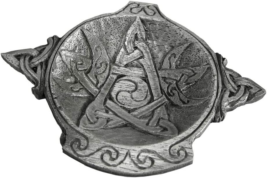 Pewter Moon Phase Pentacle Popular products Wiccan Bowl Mesa Mall Altar