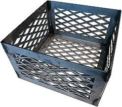 LavaLock Charcoal Basket 10 x 10 x 6 - Vertical Horizontal Offset BBQ Smoker Coal (firebox)