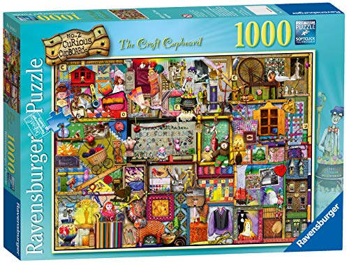 Ravensburger 194124 Colin Thompson Puzzle The Craft Cupboard, 1000 Pezzi