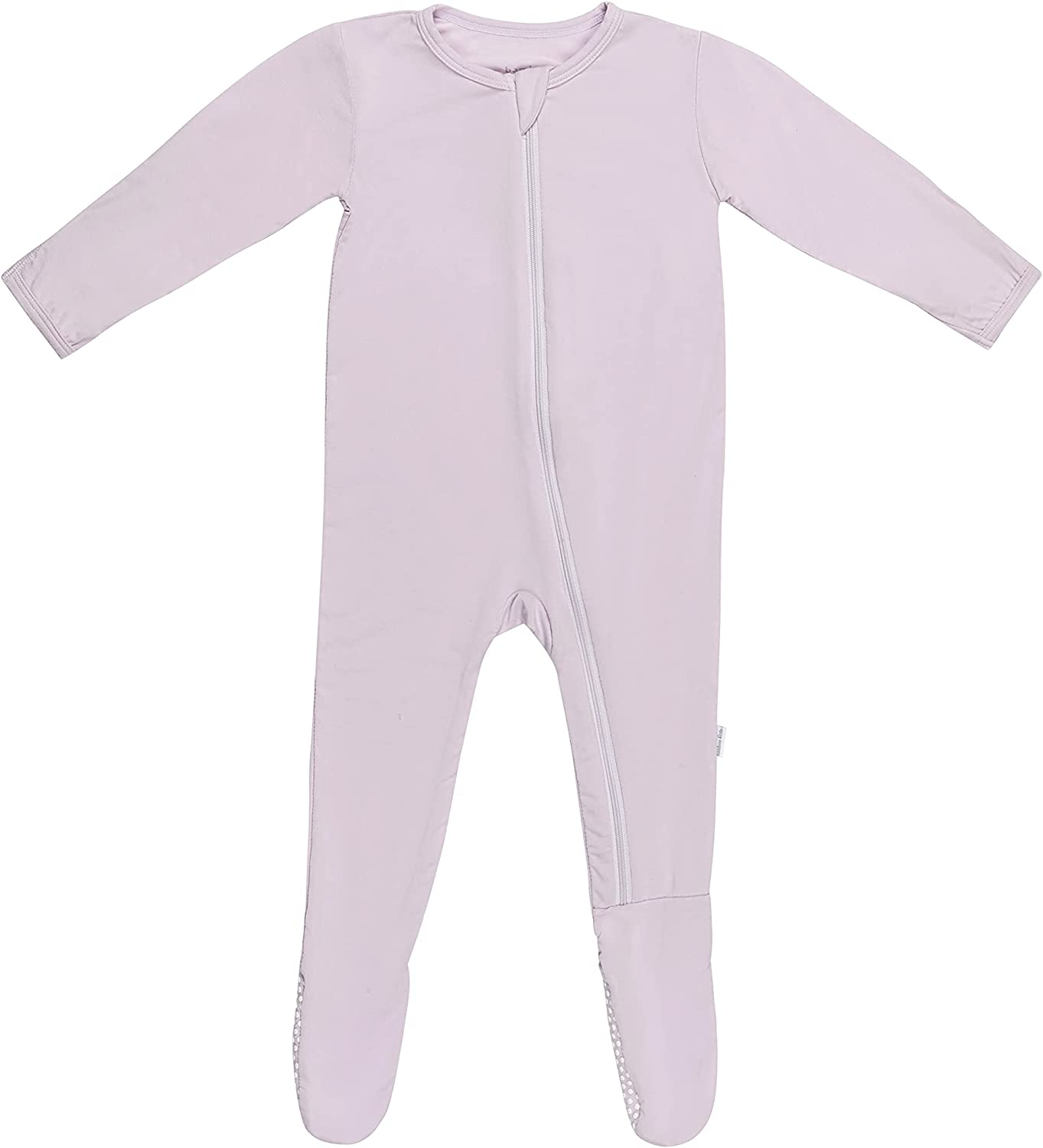 Bamboo Safety and trust OFFicial mail order Little Jersey Baby Pajamas Footie Boy Zipper