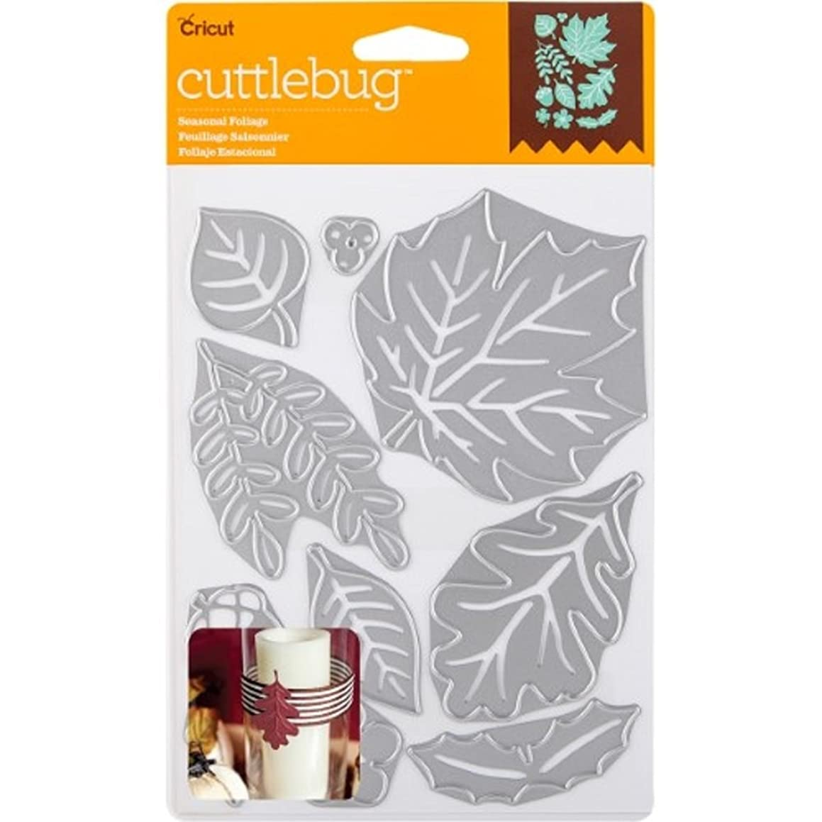 Cricut Cuttlebug Dies, Seasonal Foliage