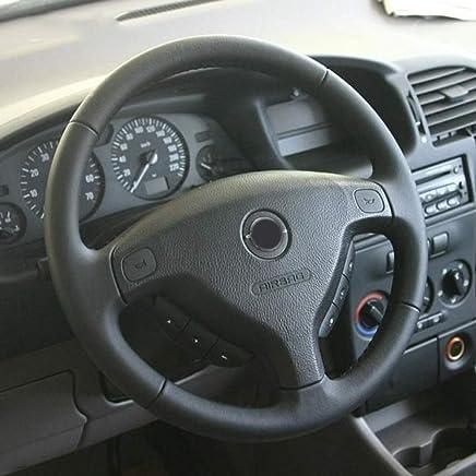 ZYTB Para la Cubierta del Volante del Auto Negro para Opel Zafira A 1999-2005