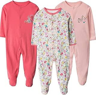 Snug Bub Baby Newborn 100/% Cotton Footed Pajamas Cute Caterpillar Motif