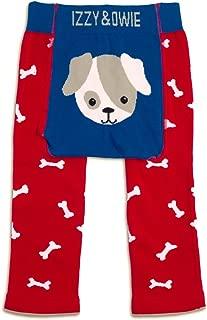 Izzy & Owie Baby Boy Leggings Dog, 12-24 Month, red, 12-24 M