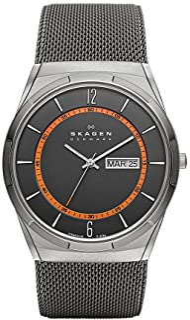 Skagen Melbye Men's Grey Dial Stainless Steel Analog Watch - SKW6007