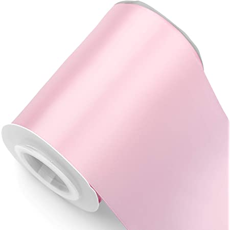 10mm wide CANDY PINK Double Face Satin Ribbon pre cut 2 metres of