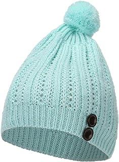 8697ebd5e39 Annhoo 2019 Women Cute Warm Hats,Women Hairball Letter Winter Keep Warm  Crochet Ski Hat