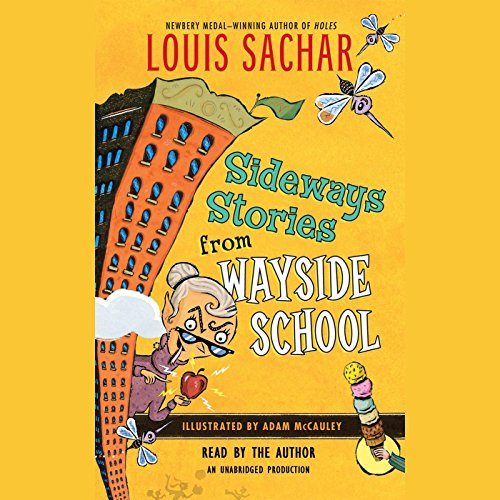 Sideways Stories from Wayside School audiobook cover art