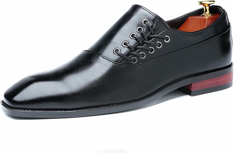 FeiZhi Men's Dress Shoes Formal Oxford Shoes Classic Derby Shoes Leather Oxford Dress Shoe