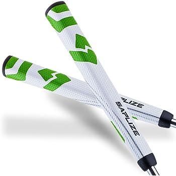 SAPLIZE セープライズ ゴルフパターグリップ 滑り止め Vシェープ 軽い 4色選択し 両面テープ付き ミッドサイズ