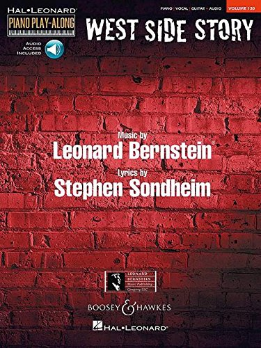 West Side Story PPA130: Klavier, Gesang und/oder Gitarre ad libitum. Ausgabe mit Online-Audiodatei. (Piano Play Along, Band 130)
