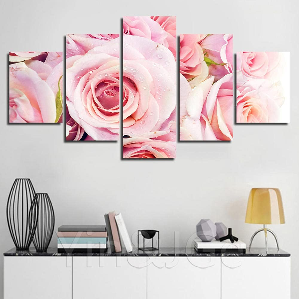 IMAX666 Large 5 Max 69% OFF Piece Canvas Post Art favorite Wall Flower