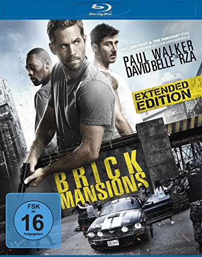 Brick Mansions - Extended Edition [Blu-ray]