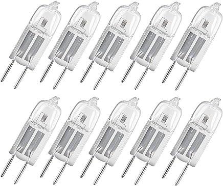 10 Stück Osram Halogen-Stiftsockellampen Halostar Starlite, 12V, G4, 10W, 130m, EEK C, 64415s