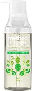 Method Odor Eliminating Kitchen Hand Wash, Basil, 12 Ounce