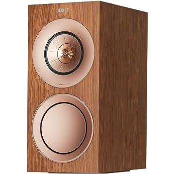 KEF R3 Standmound Speakers, Walnut (R3WA)