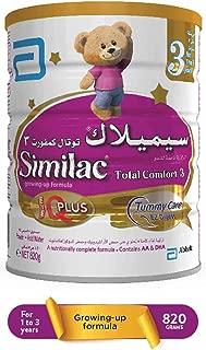 Similac Total Comfort 3 Growing Up Formula Milk - 820g Tin, CABN000177