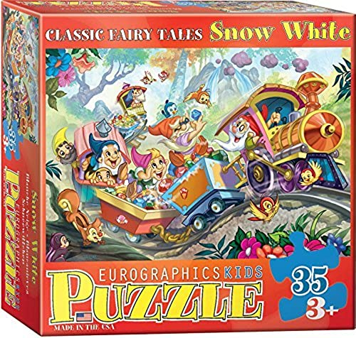 EuroGraphics 35-Piece Classicic Fairy Tales Snow blanc Puzzle by EuroGraphics