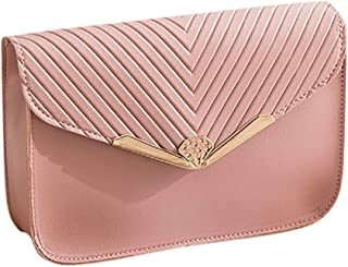 Waymine Women's Shoulder Bags Small Flap PU Backpack Letter Purse Mobile Phone Messenger Bag