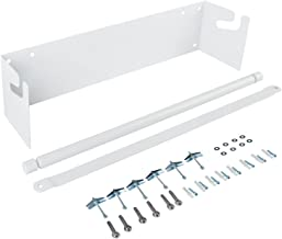 Wall Mounted Kraft Paper Roll Holder/Dispenser with Cutter Bar- Fit 48