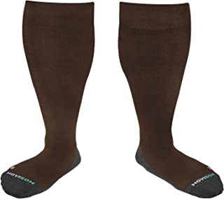 HOYISOX 20-30 mmHg Compression Comfortable Socks Plus Size for Men and Women