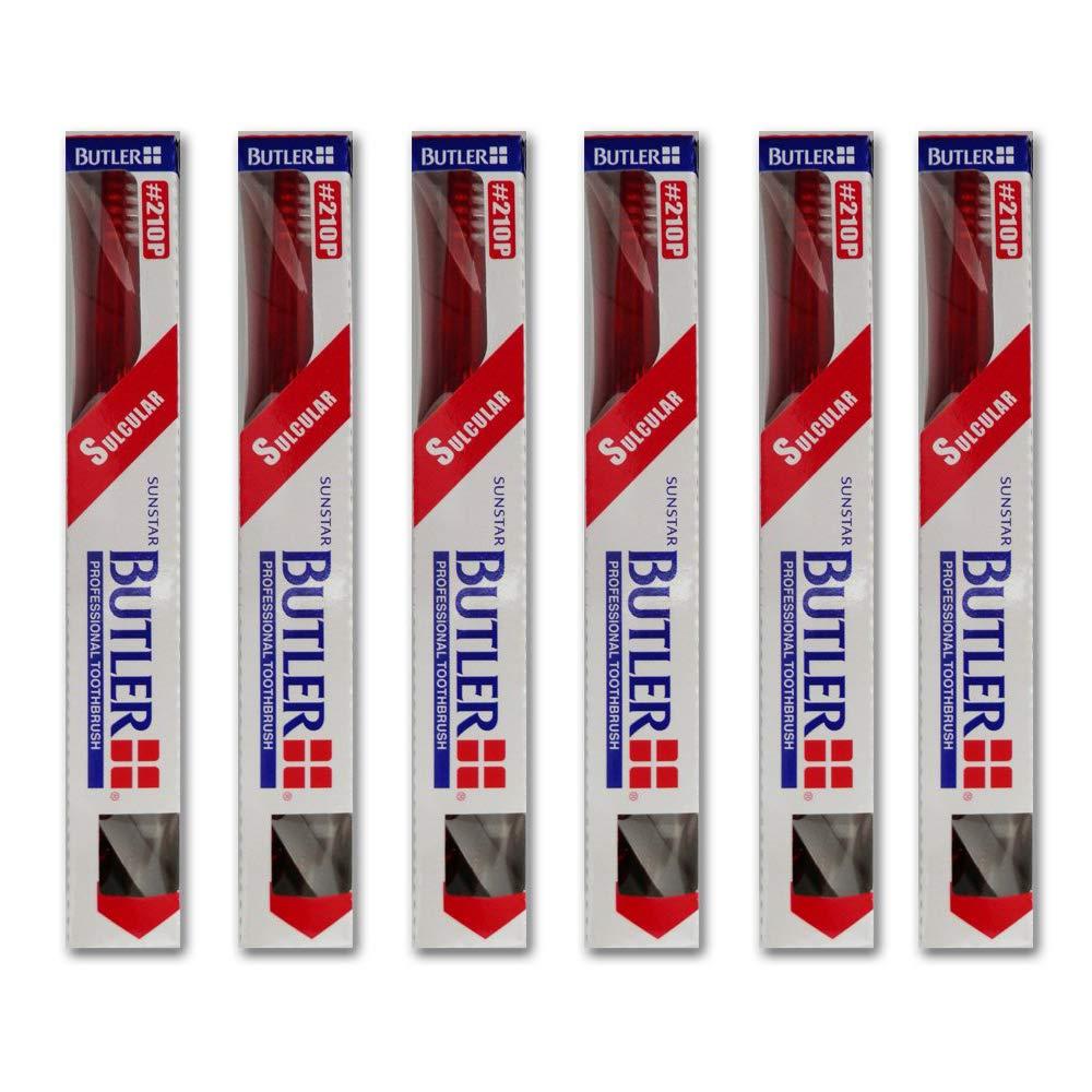オーストラリア人左憲法バトラー 歯ブラシ 6本 #308