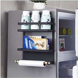 aipipl Accueil-Organisateur de Rangement étagère de réfrigérateur, Support latéral Cuisine Support de Rangement Multifonct...