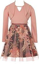 iGirlDress Girls 2 Pieces Jacket Dress Rhinestones Holiday Flower Girl Dress USA 4-14