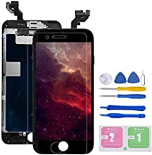 """Screen Replacement for iPhone 6S Plus 5.5"""" Full Assembly LCD Display Touch Digitizer (Black)"""