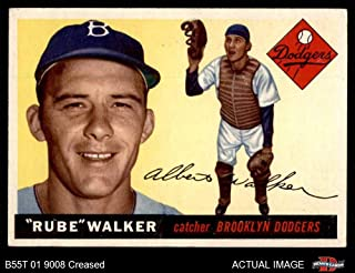 rube walker baseball card