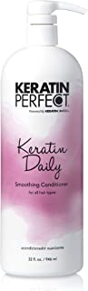 Keratin Perfect - Keratin Daily - Smoothing Shampoo - For All Hair Types - Enhances Body and Shine - Daily Frizz Control -...