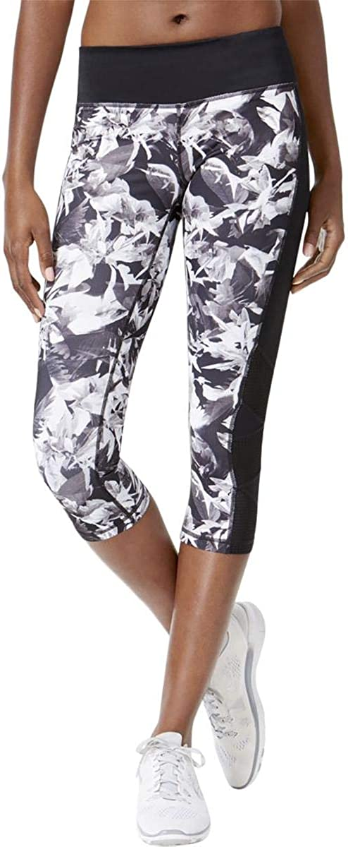 Ideology Women's Floral-Print Leggings Easy-to-use Some reservation Cropped Performance