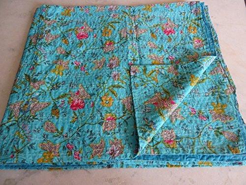 Tribal Asian Textiles Kantha-Steppdecke von Cachem...