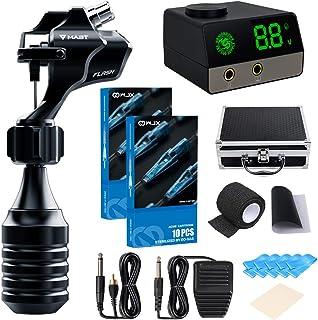 Mast Tattoo Kit Mast Flash Rotary Tattoo Machine Kit Tattoo Power Supply Needles Foot Pedal