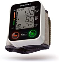 paramed wrist blood pressure monitor