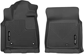 Husky Liners 53711 Black X-act Contour Front Floor Liners Fits 2012-2019 Toyota Tundra CrewMax / Double Cab / Standard Cab