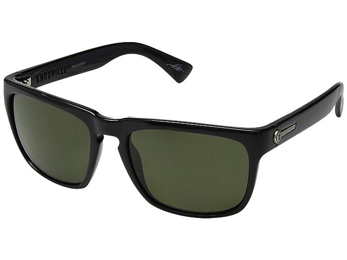 Electric Eyewear Knoxville Polarized (Gloss Black/OHM Grey Polar) Sport Sunglasses